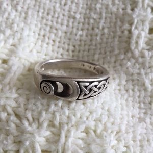 Jewelry - Sterling Silver Celtic Design Ring (9)